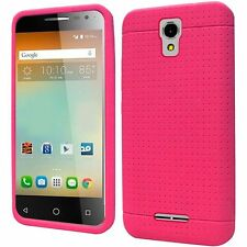 Alcatel One Touch Elevate 5017E / 5017B / 5017 Rugged Silicone Phone Cover Case