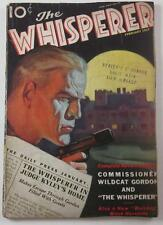 WHISPERER PULP #5 FEB 1937 MANSION OF THE MISSING CLIFFORD GOODRICH ALAN HATHWAY