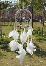 Lucky Feather Dream Catcher Dreamcatcher Beaded Car Mirror Hanging Ornament Gift