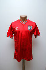 RARE ENGLAND NATIONAL TEAM 1984/1985/1986/1987 AWAY FOOTBALL SHIRT JERSEY UMBRO