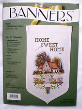 """JCA / Michael LeClair """"The Gateway Home"""" Banner Counted Cross Stitch Kit"""