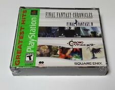 Final Fantasy Chronicles: Final Fantasy IV & Chrono Trigger (Sony PlayStation 1,