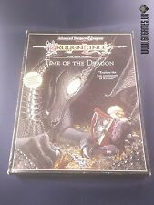 AD&D TIME OF THE DRAGON box set Advanced Dungeons&Dragons TSR 1989
