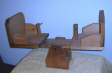 """Doll Furniture Teeter Totter See Saw Vintage Wooden Handcrafted 18"""" to 21"""" Doll"""
