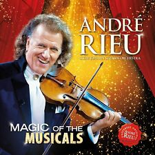 André Rieu - Magic Of The Musicals CD Brand New & Sealed (TB4)