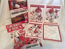 Cincinnati Reds 2010 Season Ticket Caravan Group Sales Promotional Stickers Pen
