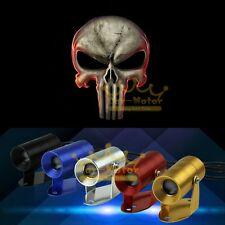 Hot Sale 3D Punisher Skull Logo Motorcycle Laser Projector LED Light Universal