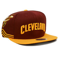 Cleveland Cavaliers Mitchell & Ness Jersey Short Hook Snapback (Maroon)