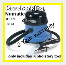 Numatic Commercial Car Valeting Carpet & Upholstery Extraction Cleaner Machine