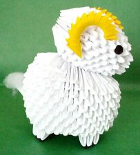 3D Origami Sheep - A Great Gift!