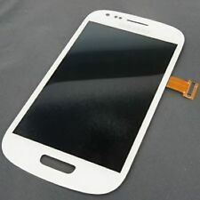 DISPLAY LCD+TOUCH SCREEN per SAMSUNG GALAXY S3 MINI GT i8190 Vetro BIANCO NUOVO
