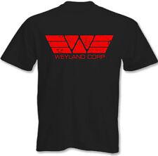 Weyland Corp Aspecto Desgastado camiseta hombre Retro Alien Depredador