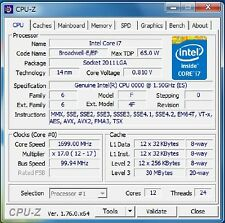 Intel Xeon E5-2628L v4 ES LGA2011-3 12C Compatible with X99 i7-6850K 6900K 6950X