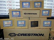 CRESTRON TPS-2000L TOUCHPANEL touch screen tps-2000 w faceplate bezel & buttons