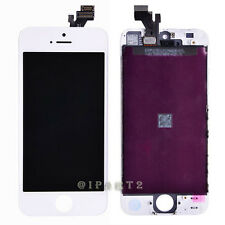 LCD Display Screen + Touch Digitizer Glass Assembly for Apple iPhone 5 (White)