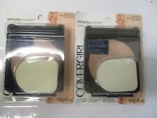 4 COVERGIRL SIMPLY POWDER FOUNDATION - ASSORTED - EXP: 9/18+   -    AB    372