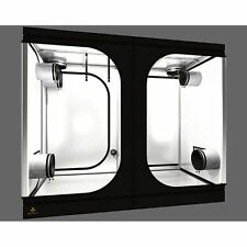 Secret JARDIN dr240w Wide qualità riflettente MYLAR Grow Tent 2.4m x 1.2m x 2m