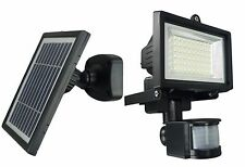 Solar Powered Motion Sensor Activated Led flood light Security Light Outdoor