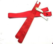 BMB American made nylon tie strap and matching off billet horse tack equine