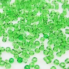 Free shipping 2mm 1000pcs 15g  glass seed beads grass green  For Jewelry Making