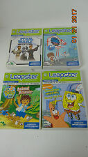 Lot of 4 LeapFrog Leapster Learning Game Path Learning