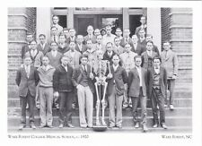 """~Post Card-""""College Students/The Medical School, 1920"""" @ *Wake Forest, NC"""