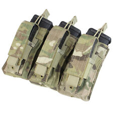 CONDOR TRIPLE KANGAROO MAG POUCH - MILITARY FIELD GEAR IN GENUINE CRYE MULTICAM