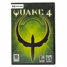 Quake 4 (PC DVD-ROM) First Person Shooter FPS Activision Computer Game UK PAL