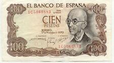 ESPAGNE SPAIN ESPANA 100 PTS 1970 état voir scan 883