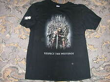 Game of Thrones Catch the Throne Mixtape Promo T-Shirt Sz L HBO Promo Snoop Dogg