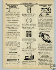 1942 PAPER AD Coleman Gas Gasoline Sad Iron Streamlined Streamline