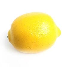 Artificiale Limone 8cm realistico grandezza naturale finto frutta