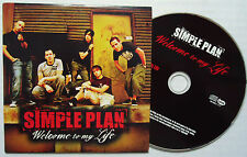 CD CARTONNE (CARDSLEEVE) SIMPLE PLAN 2T WELCOME TO MY LIFE  2004 TBE