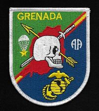 82nd AIRBORNE PARATROOPER OPERATION URGENT FURY GRENADA USMC MILITARY PATCH