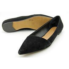 Crown Vintage Noelle Women US 11 Black Flats Pre Owned  1316