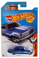 2016 Hot Wheels #128 Muscle Mania '63 Chevy II blue