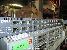 Dell PowerConnect 6024F 24x SFP Port Gigabit Network Switch 10/100/1000 48 Gbps