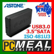 ASTONE ISO GEAR 481U3 SATA USB3.0 External Enclosure External 3.5 HDD Case Caddy