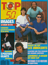 TOP 50 079 (7/9/87) IMAGES MADONNA JEAN-JACQUES GOLDMAN BRUCE WILLIS INNOCENTS