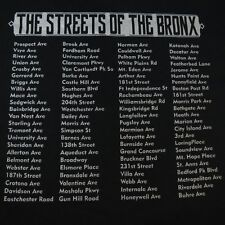 NEW THE STREETS OF THE BRONX NEW YORK NYC LITTLE ITALY TEE T SHIRT Sz Mens 3XL