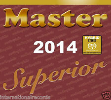 """Master Superior Audiophile 2014"" Master Music Stereo Hybrid SACD CD New Sealed"