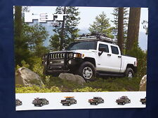 HUMMER h3t-Technical Specifications-US-prospetto brochure 2009