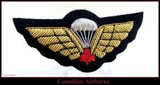 CANADA ARMY Airborne Basic Parachutists Qualified Red Maple Mess Kit Wing