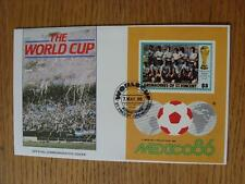 07/05/1986 World Cup Postal Cover: CC 1053 - Argentina Crowd Scene - Stamp: Urug