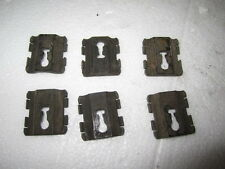 LINCOLN MARK VII 87-92 1987-1992 MOLDING CLIPS BODY MOULDING CLIPS 6 PIECES OEM