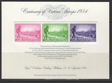 AUSTRALIA SRC2 1984 STAMP REPLICA CARD WITH 1934 VICTORIA CENTENARY MINT