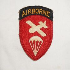 Airborne Command With Attached Tab Patch WWII US Army P0833