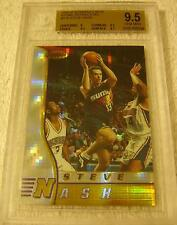 STEVE NASH 1996 BOWMAN'S BEST ATOMIC REFRACTOR PARALLEL ROOKIE BGS 9.5 VERY RARE