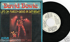 "DAVID BOWIE - Life On Mars? , SG 7"" ULTRARARE SPANISH PROMO 1973"
