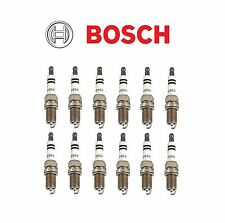 12 OEM BOSCH PLATINUM PLUS SPARK PLUGS FROM MERCEDES W163 W208 W210 W211 W220